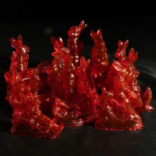 roter zuckerhase