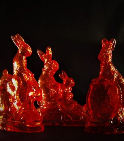 Rote Zuckerhasen